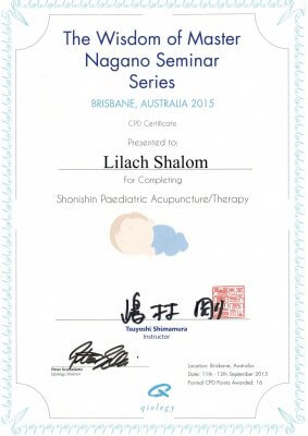 Shonishin-Paediatric-Acupuncture-Therapy-Certificate